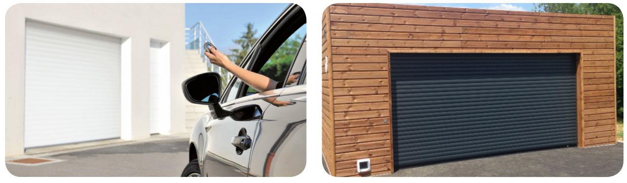 Volets du sud porte de garage enroulable volets du sud for Fabricant porte garage enroulable